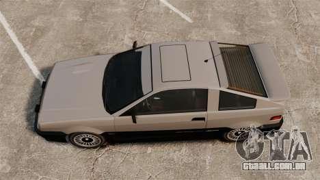 Atualizado Blista para GTA 4 traseira esquerda vista