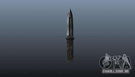 A fonte de faca para GTA 4