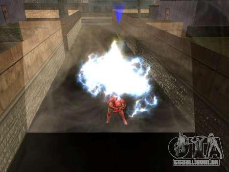 Impacto do homem de ferro na terra para GTA San Andreas por diante tela