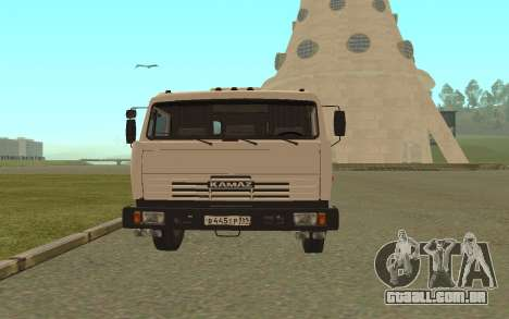 KAMAZ 54115 para GTA San Andreas vista direita