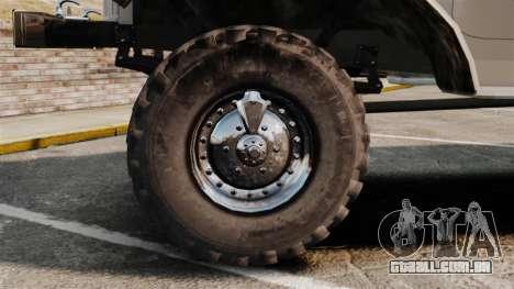 Caminhão ZIL-157 para GTA 4 vista de volta