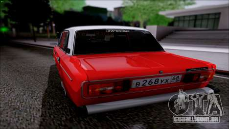VAZ 2106 Retro para GTA San Andreas traseira esquerda vista