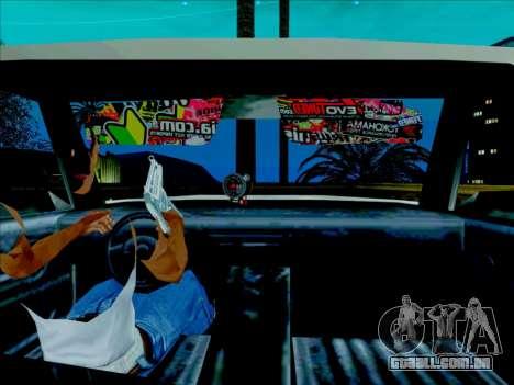 Admiral para GTA San Andreas traseira esquerda vista
