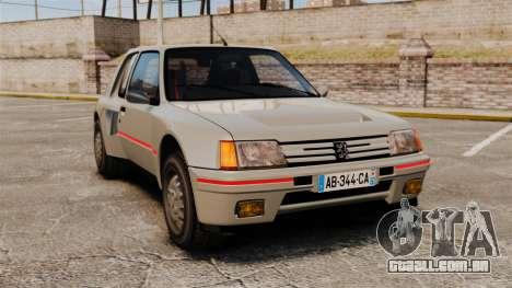 Peugeot 205 Turbo 16 para GTA 4