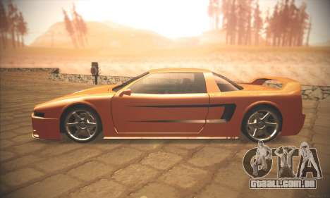 Infernus One para GTA San Andreas esquerda vista
