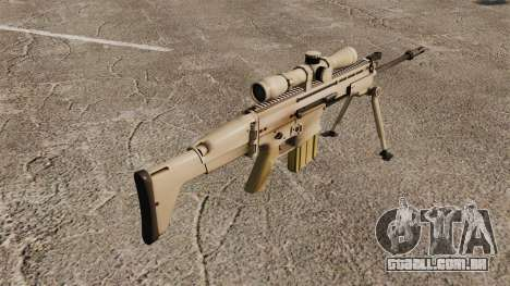 Rifle automático Mk 17 SCAR-H para GTA 4 segundo screenshot