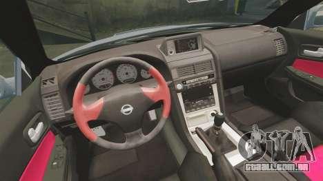 Nissan Skyline R34 GT-R NISMO Z-tune para GTA 4 vista interior