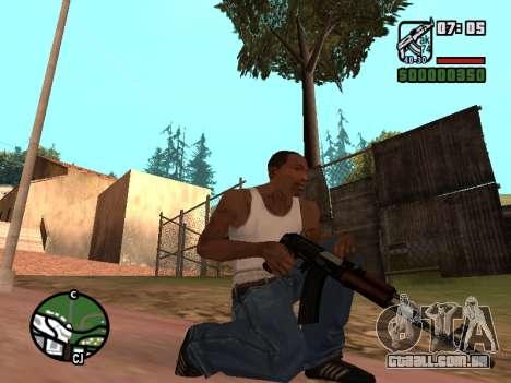 Buttstock AK-74 para GTA San Andreas terceira tela