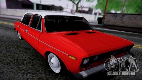 VAZ 2106 Retro para GTA San Andreas vista interior