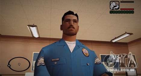 Cadet Of The Police Academy para GTA San Andreas terceira tela