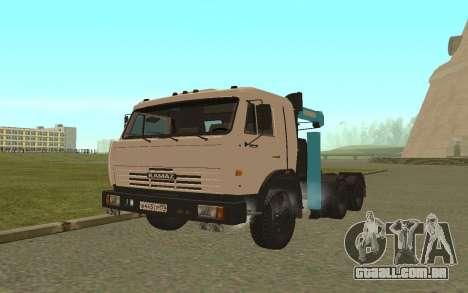 KAMAZ 54115 para GTA San Andreas