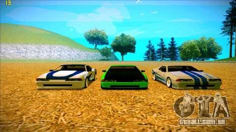 Paintjobs EQG Version for Elegy para GTA San Andreas quinto tela