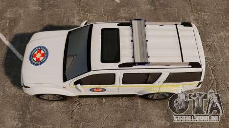 Nissan Pathfinder HGSS [ELS] para GTA 4 vista direita