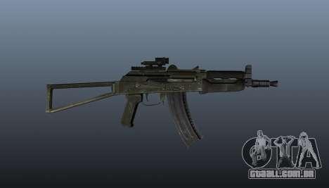 Automático AKS74U v2 para GTA 4 terceira tela