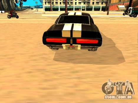 Ford Shelby GT-500E Eleanor para GTA San Andreas vista direita