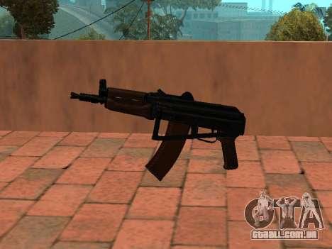 AKS-74U mm para GTA San Andreas