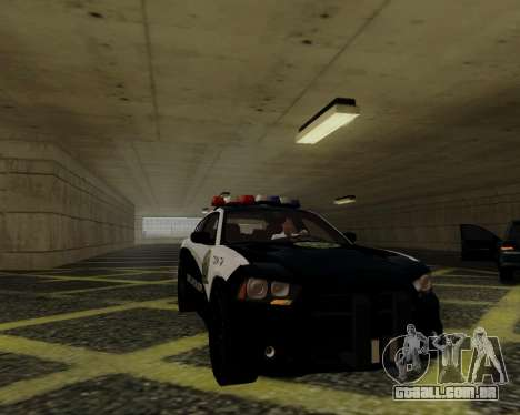 Dodge Charger 2012 Police IVF para GTA San Andreas vista interior
