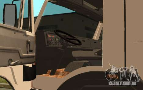 KAMAZ 54115 para GTA San Andreas vista traseira