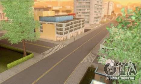 Ruas vazias (Screenshots) para GTA San Andreas por diante tela