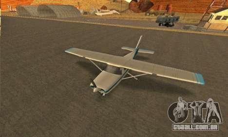 Dodo GTA V para GTA San Andreas vista traseira