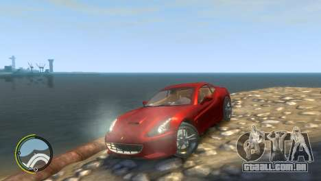 Ferrari California [EPM] para GTA 4 vista interior