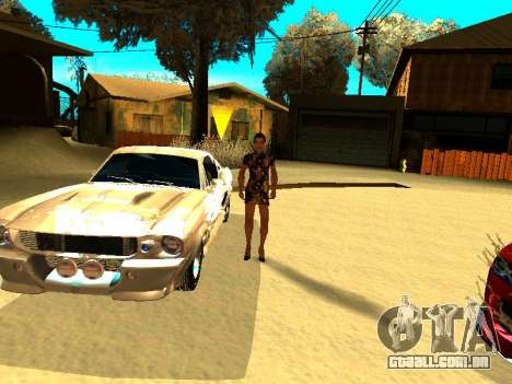 Ford Shelby GT-500E Eleanor para o motor de GTA San Andreas