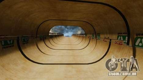 Faixa de rampa para GTA 4 quinto tela
