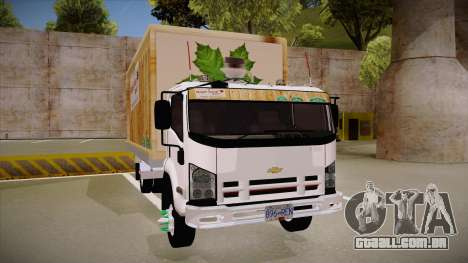 Chevrolet FRR Maple Syrup World para GTA San Andreas vista traseira