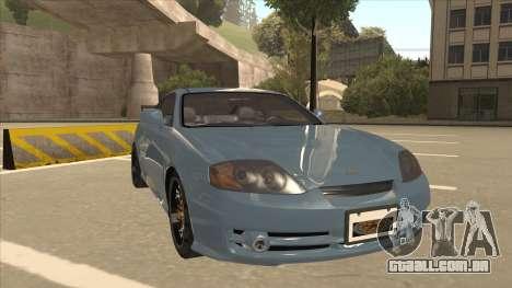 Hyundai Coupe V6 Soft Tuned v1 para GTA San Andreas esquerda vista