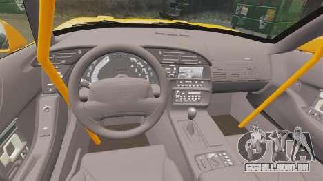 Chevrolet Corvette C4 1996 v1 para GTA 4 vista interior