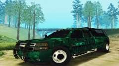 Chevrolet Silverado 3500 Military para GTA San Andreas