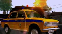 VAZ 21011 polícia para GTA San Andreas
