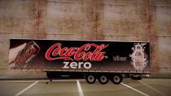 Sider semi-reboque Coca-Cola Zero