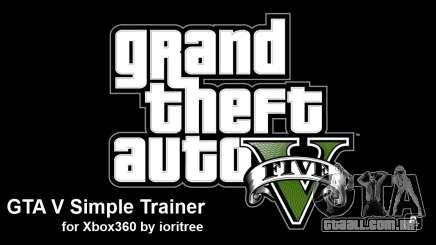 GTA 5 simple trainer by ioritree para GTA 5