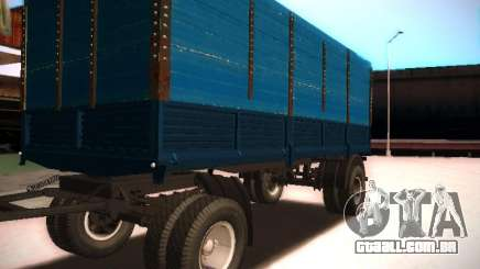 Reboque Kamaz 5320 para GTA San Andreas