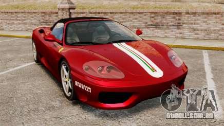 Ferrari 360 Spider 2000 [EPM] para GTA 4