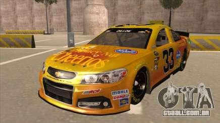 Chevrolet SS NASCAR No. 33 Cheerios para GTA San Andreas