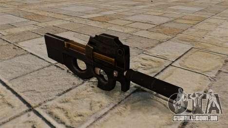 Pistola-metralhadora P90 para GTA 4
