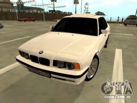 BMW 525 E34 para GTA San Andreas