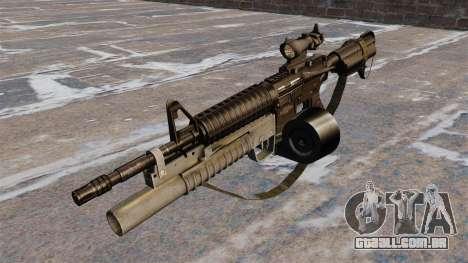 Automáticos carabina M4 C-Mag para GTA 4