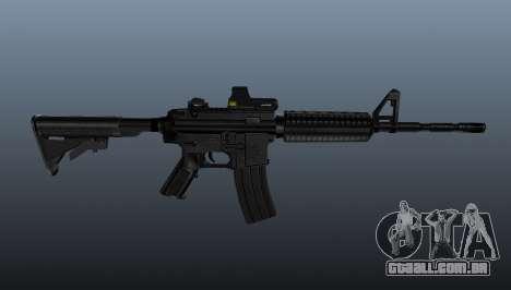 Carabina automática M4A1 tático para GTA 4 terceira tela