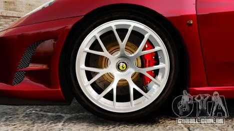 Ferrari F430 Scuderia 2007 para GTA 4 vista de volta
