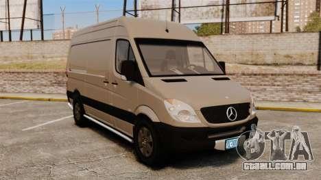 Mercedes-Benz Sprinter 2500 2011 v1.4 para GTA 4