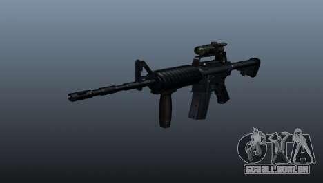 Carabina automática M4A1 Grip para GTA 4