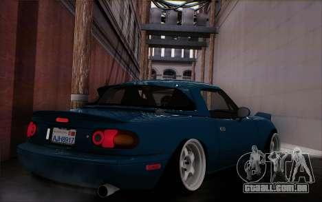 Mazda Miata para GTA San Andreas esquerda vista