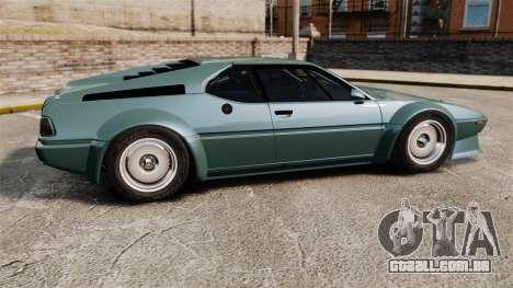 BMW M1 [EPM] para GTA 4 esquerda vista