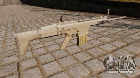 Fuzil FN SCAR-H para GTA 4 segundo screenshot
