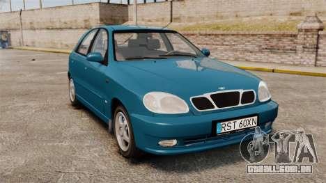 Daewoo Lanos PL 2001 para GTA 4