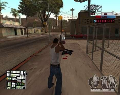 C-HUD by Braun para GTA San Andreas segunda tela
