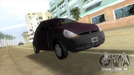 Ford Ka para GTA Vice City deixou vista
